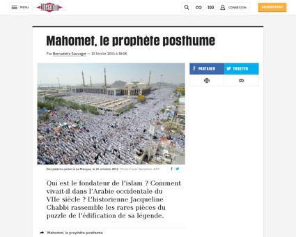 Mahomet le prophete posthume 882151 Jacqueline