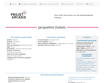 OMC PA719162 Jacqueline