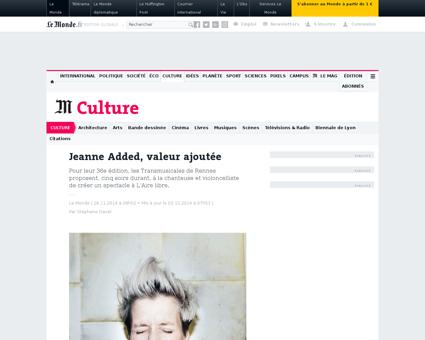 Musiques jeanne added valeur ajoutee 453 Jeanne