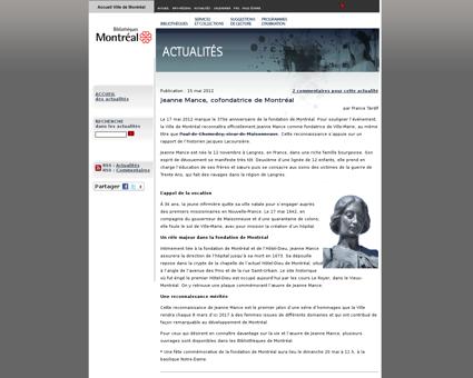Jeanne MANCE
