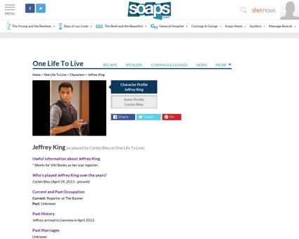 Jeffrey King Jeffrey