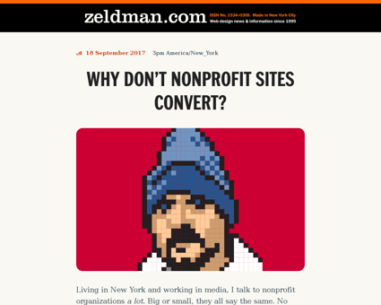 zeldman.com Jeffrey