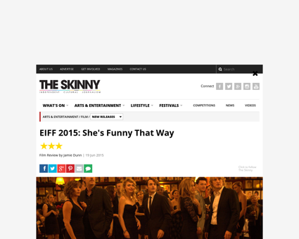 Shes funny that way review Jennifer