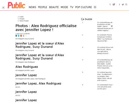 Photos Alex Rodriguez officialise avec J Jennifer