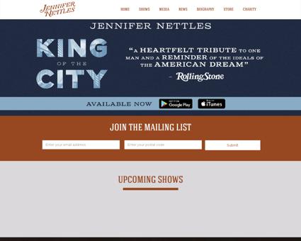 jennifernettles.com Jennifer