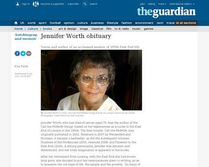 Jennifer WORTH
