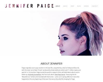 jenniferpaige.com Jennifer