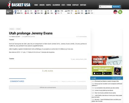 Jeremy EVANS