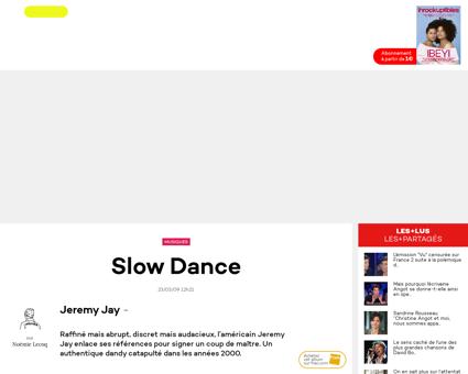 Slow dance Jeremy