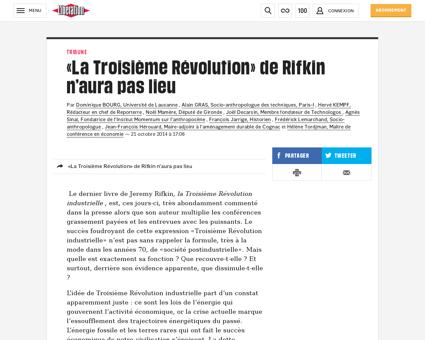 La troisieme revolution de rifkin n aura Jeremy