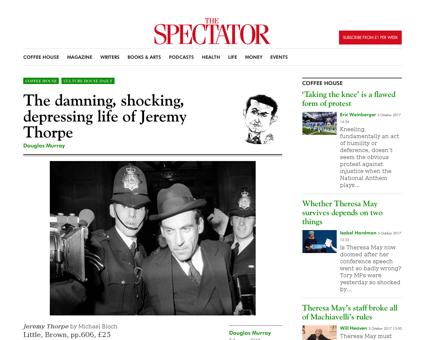 The damning shocking depressing life of  Jeremy