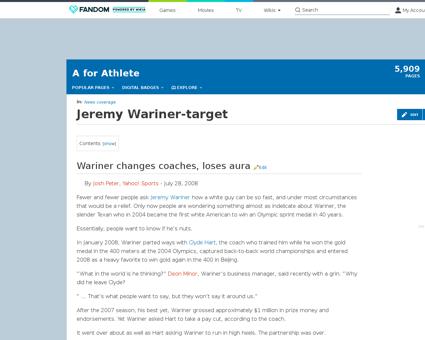 Jeremy WARINER