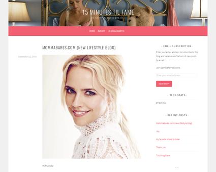 Mommabares com new lifestyle blog Jessica
