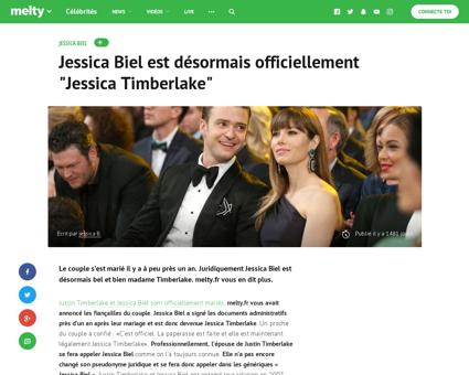 Jessica biel est desormais officiellemen Jessica