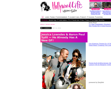 Aaron paul splits from jessica lowndes Jessica