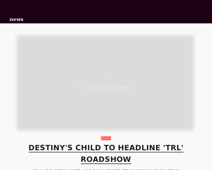 Destinys child headline trl roadshow.jht Jessica