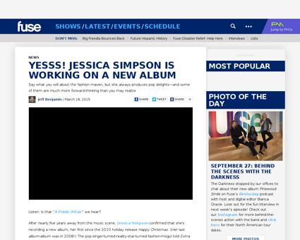 Jessica simpson new album Jessica