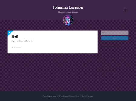 johannalarsson.se Johanna