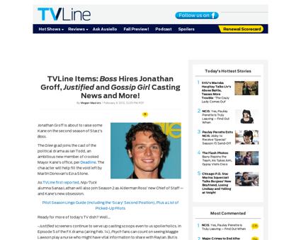 Tvline items jonathan groff boss season  Jonathan
