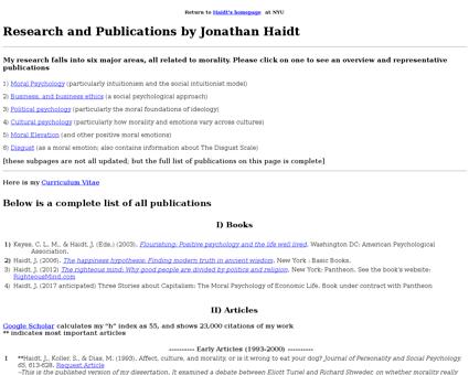 Publications Jonathan