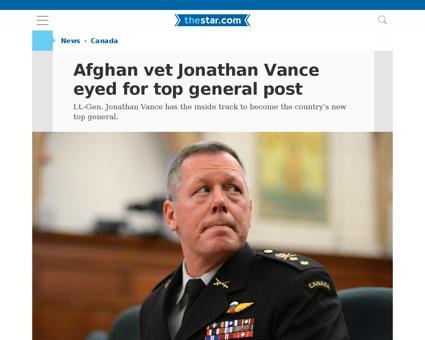 Jonathan VANCE