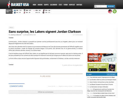 Sans surprise les lakers signent jordan  Jordan