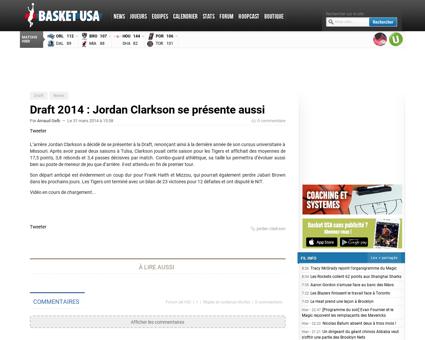Draft 2014 jordan clarkson se presente a Jordan