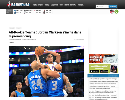 All rookies teams jordan clarkson sinvit Jordan