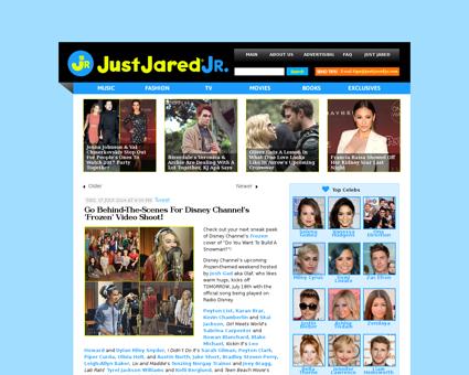 Go behind the scenes for disney channels Jordan