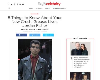 Jordan fisher grease live Jordan