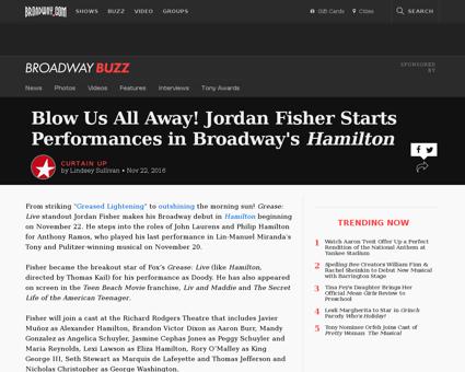 Blow us all away jordan fisher starts pe Jordan
