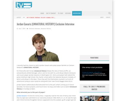 Jordan gravaris unnatural history exclus Jordan