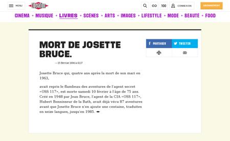 0101172039 mort de josette bruce Josette
