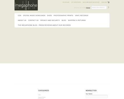 megaphone music.com Karen