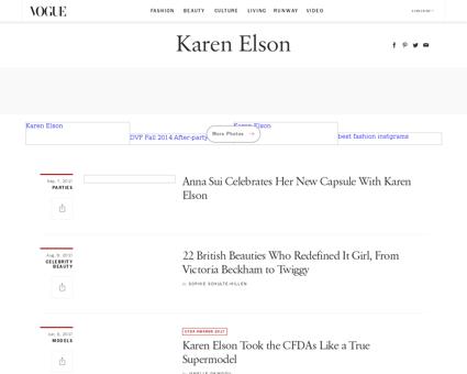 Karen Elson Karen