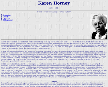 Horney Karen