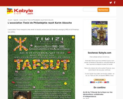 Hommage a karir a la kabylie Karim