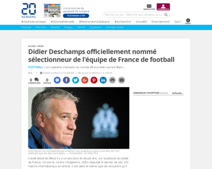 967883 didier deschamps officiellement n Karim