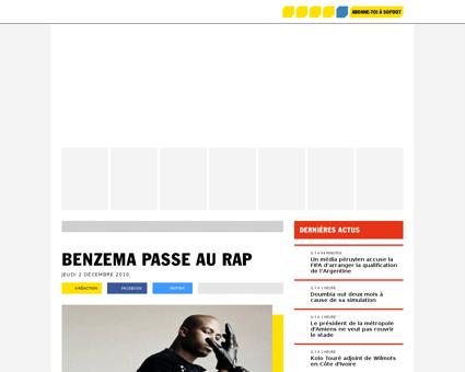 Benzema passe au rap 134824 news Karim