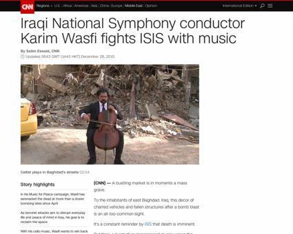 Iraq musician karim wasfi Karim