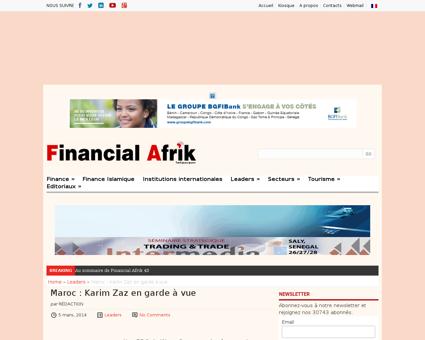 Maroc karim zaz en garde vue Karim
