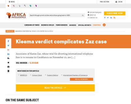 Kleema verdict complicates zaz case,1080 Karim