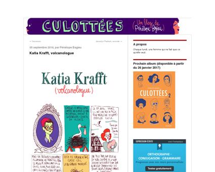 Katia krafft volcanologue Katia