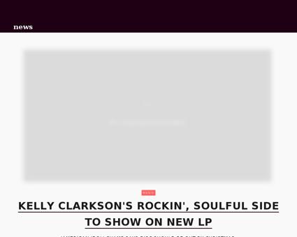Kelly clarkson talks new album.jhtml Kelly