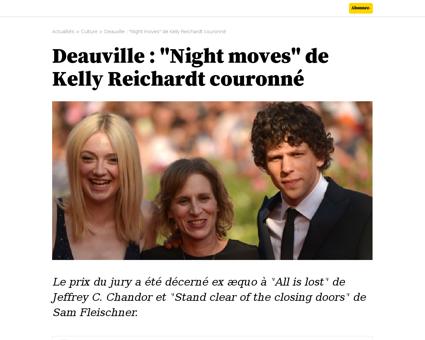 Deauville night moves de kelly reichardt Kelly