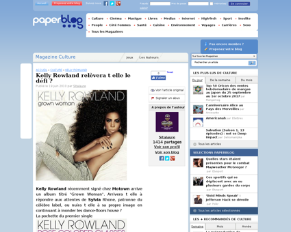 kellyrowlandweb.com Kelly