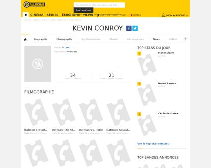 Fichepersonne gen cpersonne=195643 Kevin