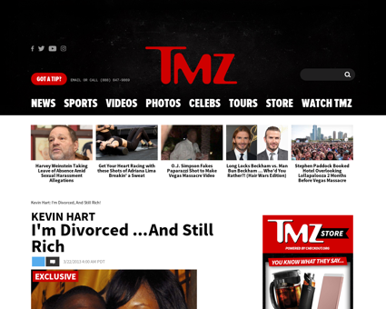 Kevin hart divorce final Kevin