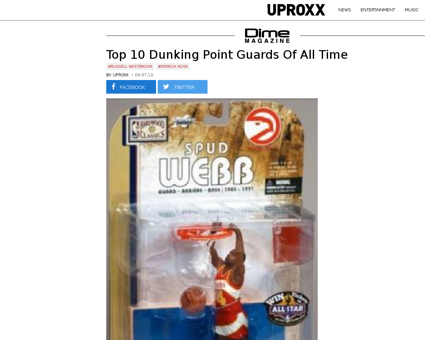 Top 10 dunking point guards of all time Kevin