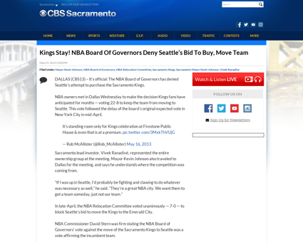 Kings stay nba board of governors deny s Kevin